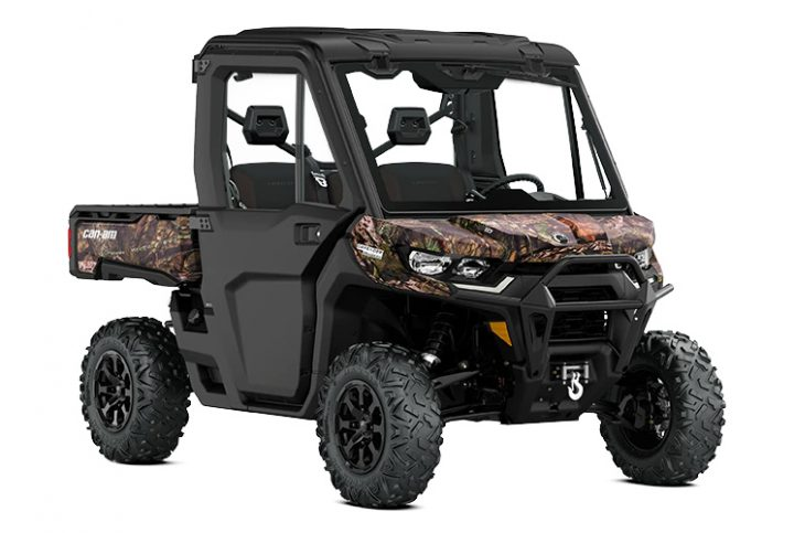 Put an end to preconceptions with the excellent Can-Am Defender Limited side-by-side