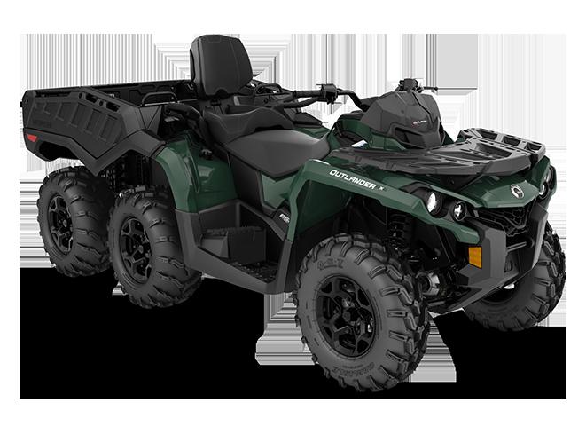 2021  OUTLANDER MAX 6X6 DPS 650