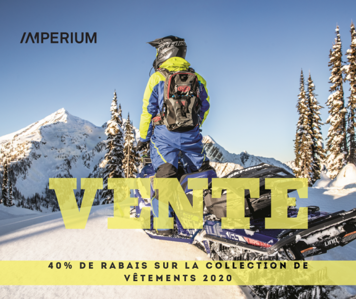 Vente collection Ski-Doo 2020