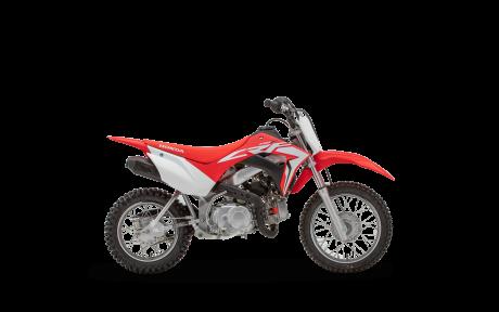 Honda CRF110F Rouge extrême 2021