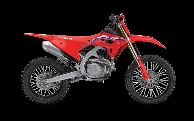 Honda CRF450RX Rouge extrême 2021