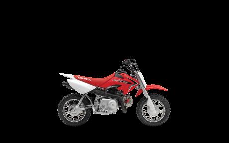 2021 Honda CRF50F Extreme Red