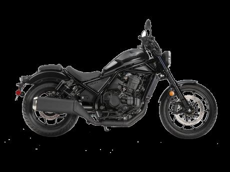 2021 Honda REBEL 1100 DCT Gunmetal Black Metallic